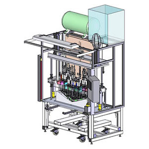 Design of Grille Heat Stake Machine